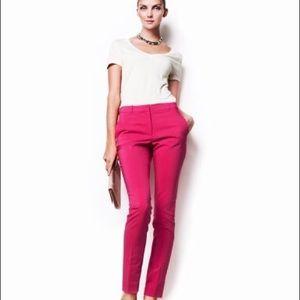 Chic Size 6 H&M L.O.G.G Fuschia Straight Leg Pants
